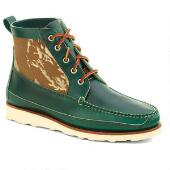 Men's Berwick USA x Mark McNairy Boot Green Camo