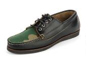 Men's Falmouth USA x Mark McNairy Camp Moc Black/Camo