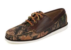 Men's Falmouth USA Realtree Advantage Timber Camo Camp Moc