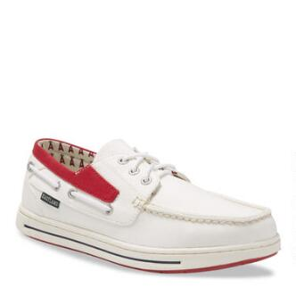 Men's Adventure MLB Los Angeles Angels Canvas Boat Shoe