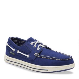 Men's Adventure MLB Los Angeles Dodgers Canvas Boat Shoe