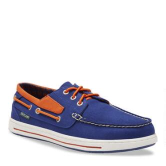 Men's Adventure MLB New York Mets Canvas Boat Shoe
