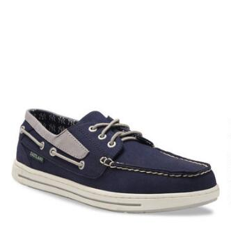 Men's Adventure MLB New York Yankees Canvas Boat Shoe