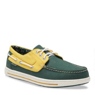 Men's Adventure MLB Oakland Athletics Canvas Boat Shoe