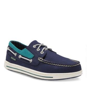 Men's Adventure MLB Seattle Mariners Canvas Boat Shoe