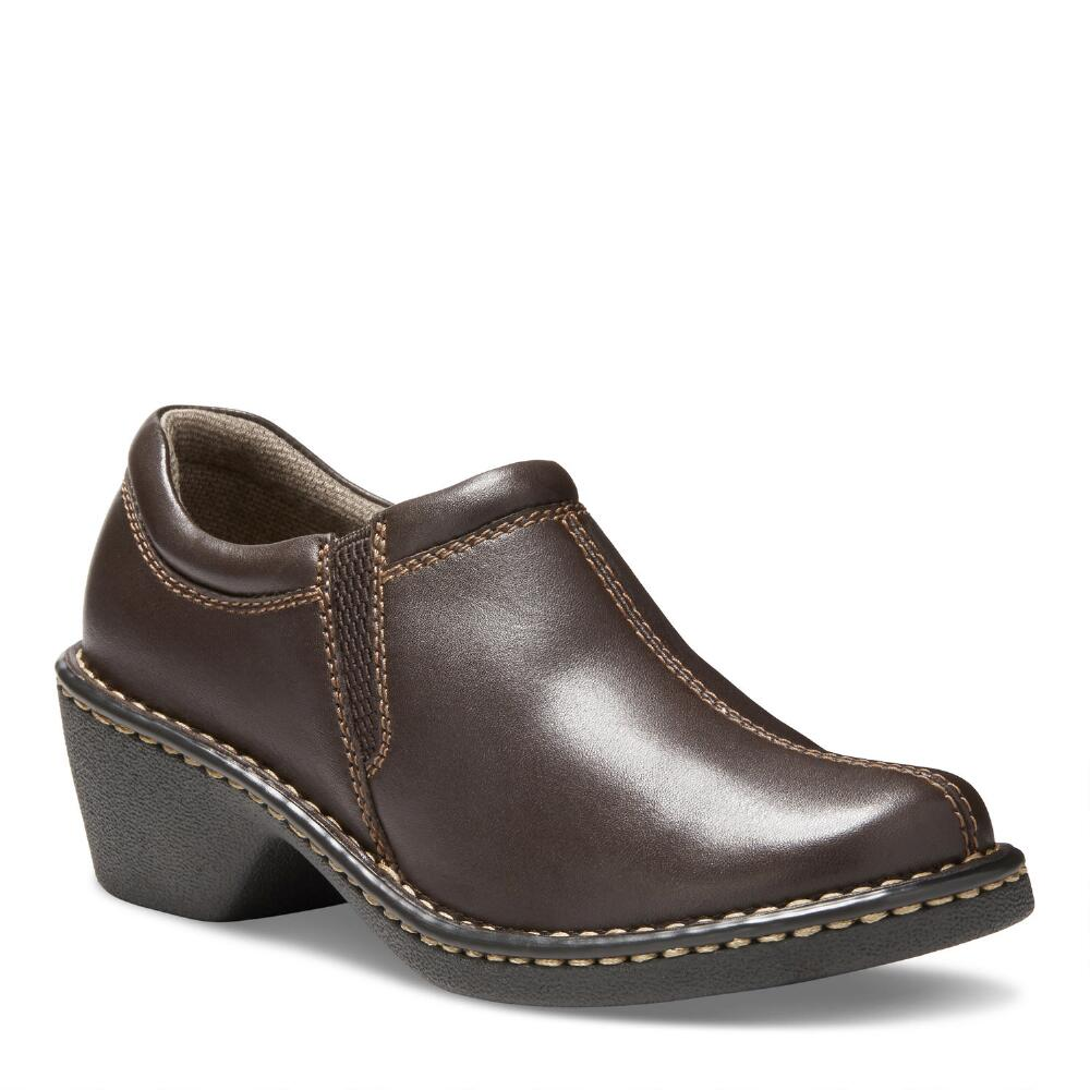 Eastland Womens Brown Leather TCMW953ZISR Amorey