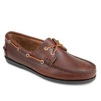 Women's Freeport USA x Mark McNairy Camp Moc Oxford Brown