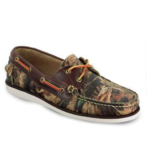 Men's Freeport USA Realtree Advantage Timber Camo Boat Shoe