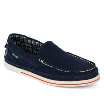 Men's Sheffield MLB Detroit Tigers Canvas Slip On