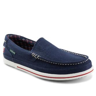 Men's Sheffield MLB Minnesota Twins Canvas Slip On