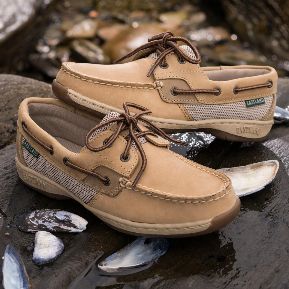 Women's Solstice Boat Shoe Oxford · large outside sole overhead pair ls