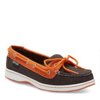 Women's Sunset MLB Baltimore Orioles Canvas Boat Shoe