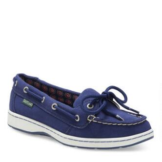 Women's Sunset MLB Chicago Cubs Canvas Boat Shoe