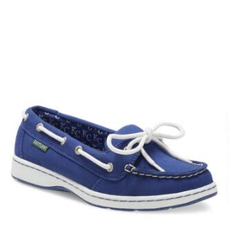Women's Sunset MLB Kansas City Royals Canvas Boat Shoe