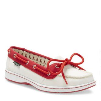 Women's Sunset MLB Los Angeles Angels Canvas Boat Shoe