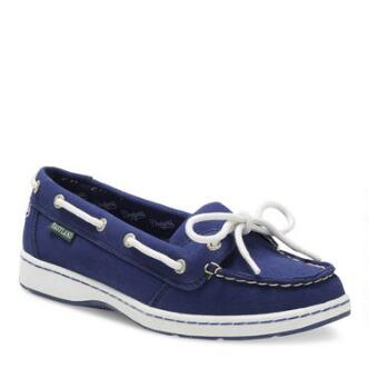 Women's Sunset MLB Los Angeles Dodgers Canvas Boat Shoe
