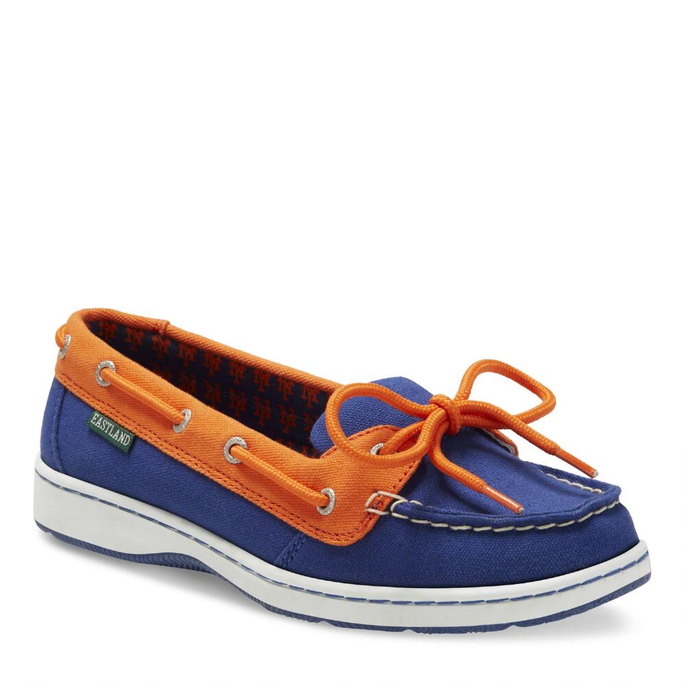 Women's Eastland New York Mets ... Sunset Boat Shoes P3GTx1