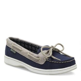 Women's Sunset MLB New York Yankees Canvas Boat Shoe