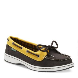 Women's Sunset MLB Pittsburgh Pirates Canvas Boat Shoe