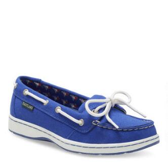 Women's Sunset MLB Toronto Blue Jays Canvas Boat Shoe