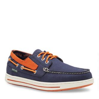 Men's Adventure MLB Houston Astros Canvas Boat Shoe