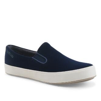 Women's Breezy Velour Slip On Sneakers