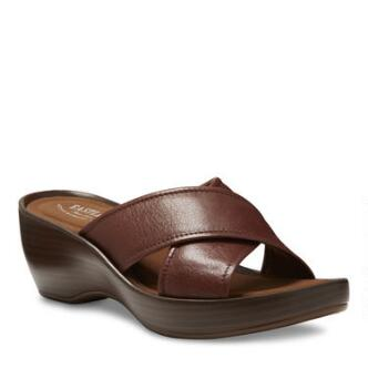 The Candice crisscross slide wedge is sure to be your summer staple for everyday and special events alike
