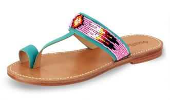 Women's Hickory 1955 Beaded Toe Loop Sandal