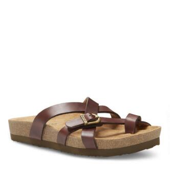 Women's Sable Strap and Buckle Sandal