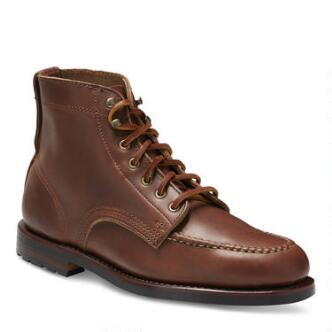 Men's Sawyer USA Moc Toe Boot