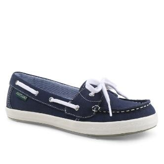 Women's Skip Canvas Boat Shoe Slip On