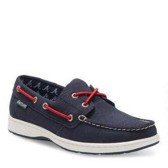 Women's Solstice MLB Atlanta Braves Canvas Boat Shoe