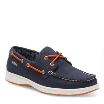 Women's Solstice MLB Detroit Tigers Canvas Boat Shoe