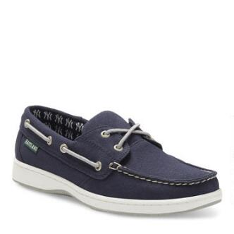 Women's Solstice MLB New York Yankees Canvas Boat Shoe