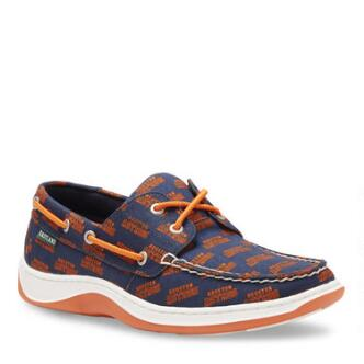 Men's Summer MLB Houston Astros Canvas Boat Shoe