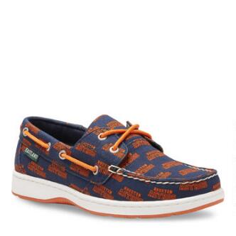 Women's Summer MLB Houston Astros Canvas Boat Shoe