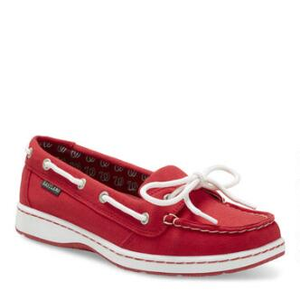 Women's Sunset MLB Washington Nationals Canvas Boat Shoe